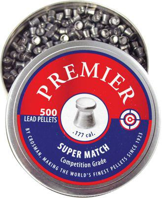 Crosman Premier .177 Caliber Super Match Pellets - 500 Count?>