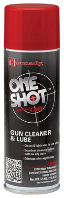 Hornady ONE SHOT with DynaGlide Plus Gun Cleaner and Dry Lube?>