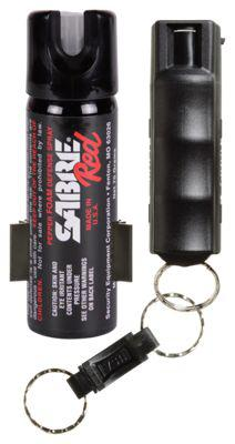 Sabre Red Pepper Spray Home & Away Protection Kit?>