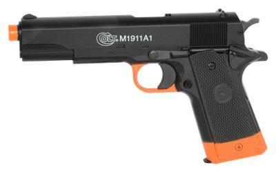 Smith & Wesson Colt M1911A1 Metal Slide Spring-Powered Airsoft Pistol?>