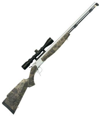 CVA Optima V2 Muzzleloader with Scope in TrueTimber Strata Camo?>