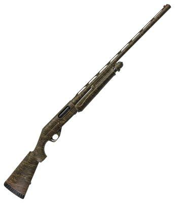 Benelli Nova Pump-Action Shotgun in Mossy Oak Bottomland Camo?>