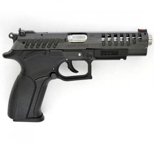"Grand Power X-CALIBUR Semi-Auto Pistol 9mm Luger 4.99"" Heavy Stainless Steel Barrel 10 Rounds Adjustable Sights Black Polymer Frame Matte Blued GPXCALIBUR?>"