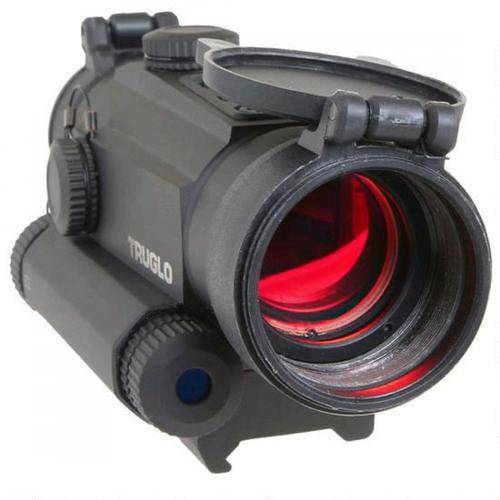 Truglo Tru-Tec 30mm Red Dot Sight with Red Laser, 2 MOA Reticle?>