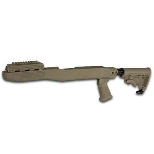 TAPCO Intrafuse SKS Stock System, Blade Bayonet Cut - Dark Earth, STK66167?>