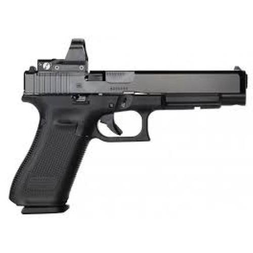 "Glock 34 Gen5 MOS Semi-Auto Pistol, 9mm, 5.31"" Barrel, 10 Rounds, Optics Ready, UA3430101MOS?>"
