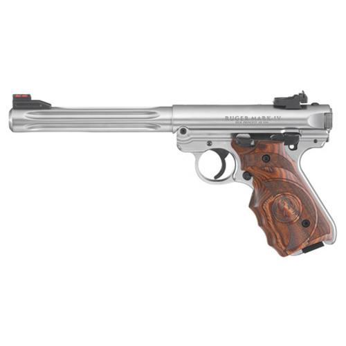 "Ruger Mark IV Hunter Semi-Auto Pistol .22LR 6.8"" Barrel 10 Rounds 40160?>"