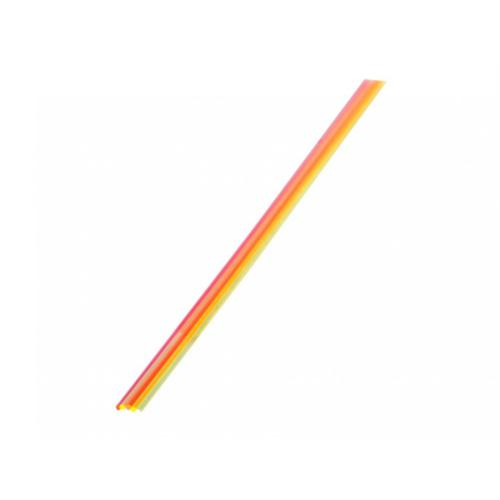 "TRUGLO Replacement Fiber Optic Rod, 5.5"" Long Green, Orange, Red, Ruby Red, Yellow - Package of 5?>"