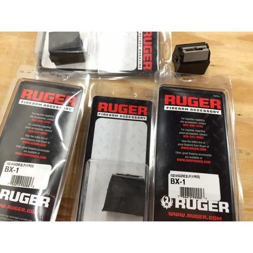 Ruger 10/22 BX-1, Black, .22LR 10-Round Polymer Magazine with Steel Feed Lips 90005?>
