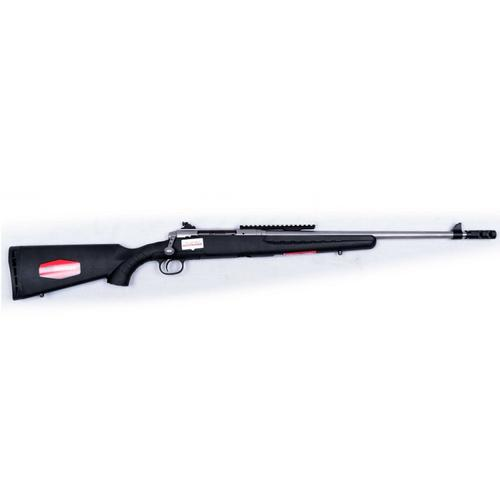 "Savage Axis II Scout Bolt Action Rifle, 7.62x39, 4 Rounds, 20"" Stainless Barrel, AccuTrigger, Muzzlebrake, 22522?>"