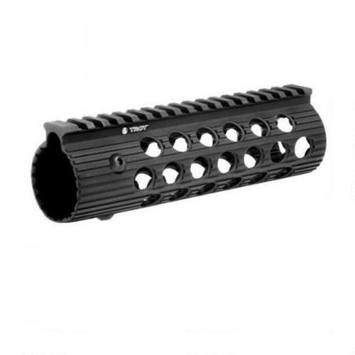"Troy Industries AR-15 Alpha Rail Free Floating Modular Handguard, 7.2"", Aluminum, Black STRX-AL1-72BT-01?>"