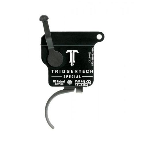 TriggerTech Remington 700 Special Trigger 1-3.5lb, Adjustable Curved, PVD-Black R70-SBB-13-TBC?>