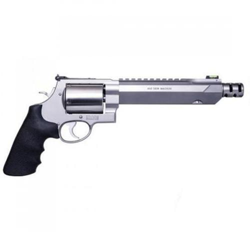 "Smith & Wesson Performance Center Model 460XVR Double Action Revolver .460 S&W Magnum 7.5"" Barrel 5 Rounds HI VIZ Fiber Optic Green Front Sight Adjustable Rear Rubber Grip Stainless Steel 11626?>"