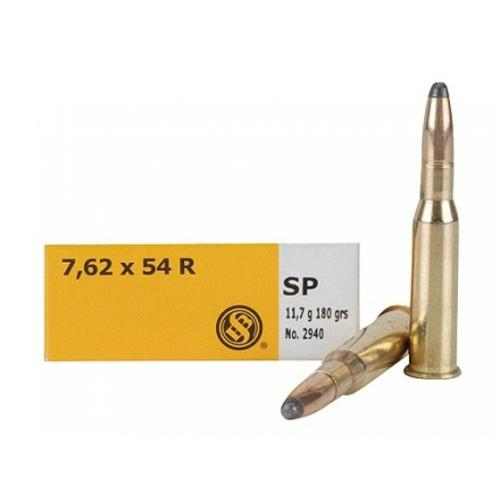 Sellier and Bellot Ammunition 7.62x54R 180gr SP 332460 - Box of 20?>