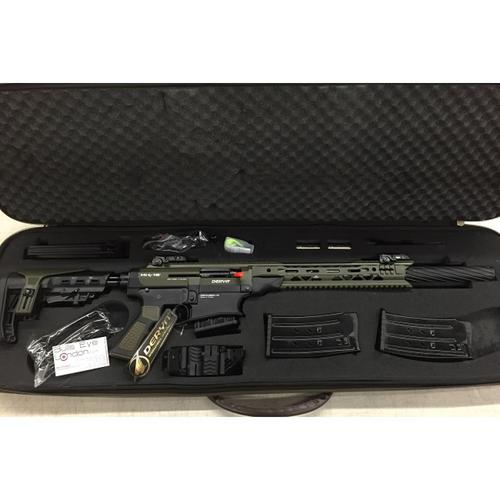 Derya MK-12 Semi-Auto Shotgun Two Tone Olive Drab Green & Black, 12 Gauge, AS-103CF?>