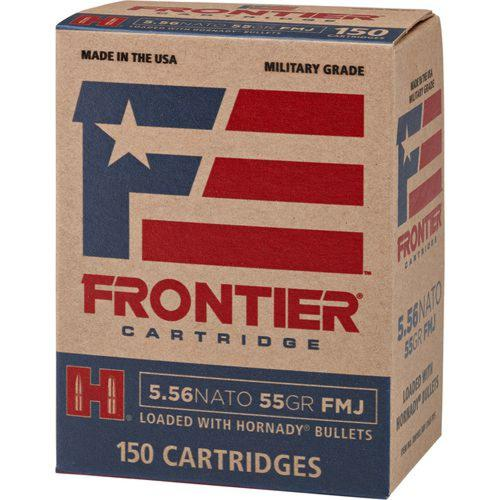 Frontier Cartridge Military Grade Ammunition, 223 Remington 55 Grain FMJ FR102 - Box of 150?>