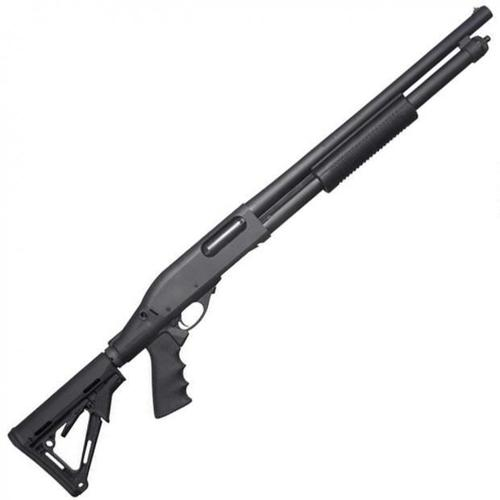 "Remington 870 Express Tactical Pump Action Shotgun 12 Gauge 18.5"" Barrel Pistol Grip Collapsible Stock Black 81212?>"