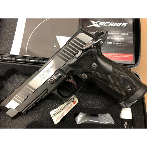 Sig Sauer P226 X-Five Black & White Semi-Auto Pistol, 9mm, SAO, 10 Rounds, 71003492?>