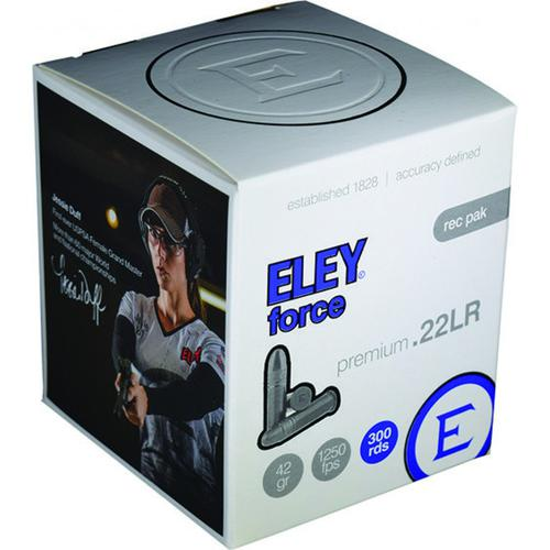 Eley Force Ammunition 22LR 42 Grain Lead Round Nose - Box of 300?>