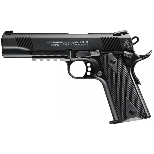 Walther Colt 1911 Government Rail Gun Pistol 22LR 517.00.05?>
