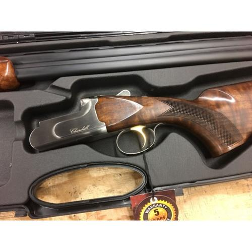 "Churchill 206 Grd 3 Over/Under Shotgun, 12 Gauge, 3"" Chamber, 28"" Barrel, Grd III Select Walnut Stock, Barrel Selector, Auto Eject, w/case, A12905?>"