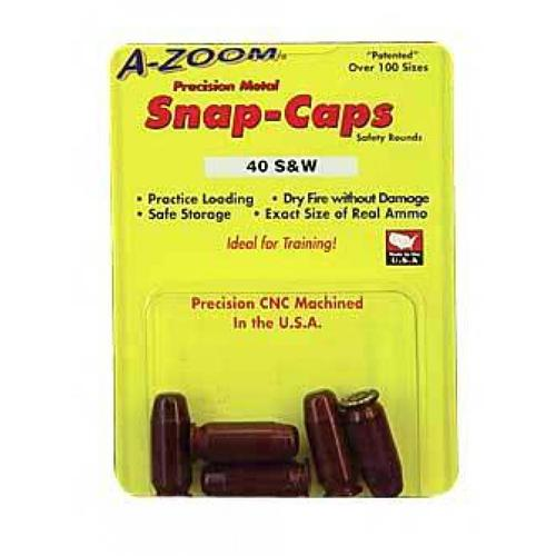 A-Zoom .40 S&W Snap Caps (Pack of 5), 36640?>