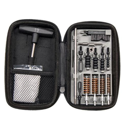 Tipton Compact Pistol Cleaning Kit, Fits .22-.45 cal, 1082252?>