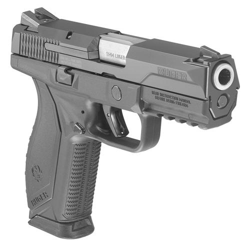"Ruger American Semi-Auto Pistol, 9mm, 4.2"" Barrel, 8607?>"