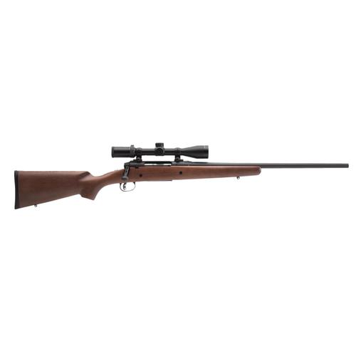 "Savage Axis II XP Hardwood Bolt Action Rifle .270 Win, 22"" Barrel 4 Rounds with 3-9x40 Scope, Wood Stock 22555?>"