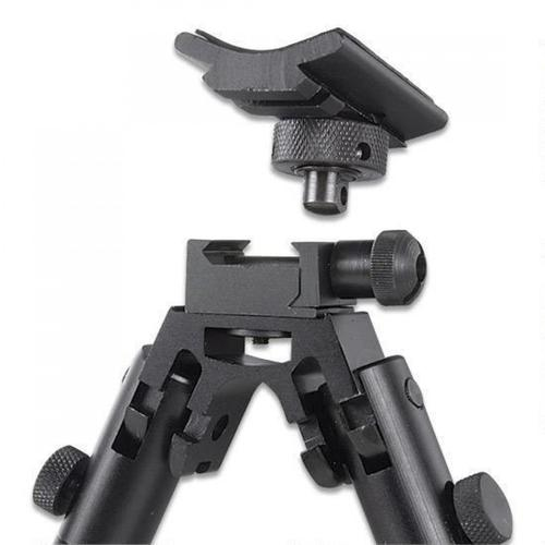 "Leapers UTG Shooter's Bipod, Rubber Feet, Height 8.7""-10.6"" TL-BP69S?>"