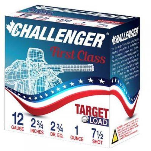 "Challenger Target Load Shotgun Ammunition, 12 Gauge, 2.75"",  #7.5 Shot 40007 - Box of 25?>"