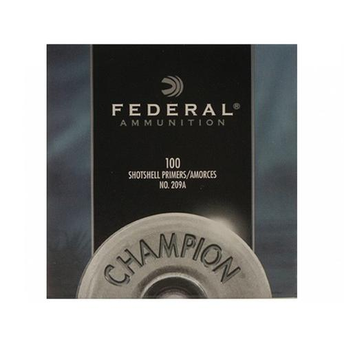 Federal Primers #209A Shotshell - 1 Box, 100 Primers?>