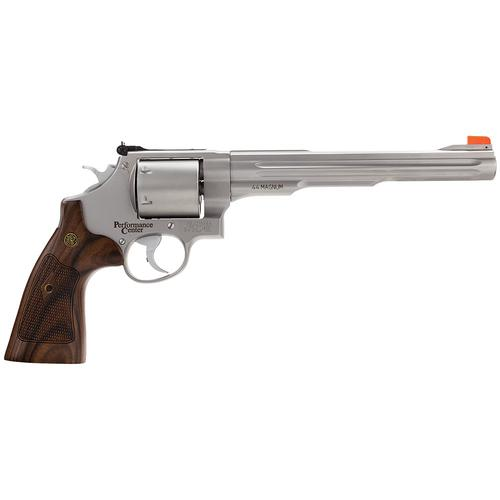 "Smith & Wesson 629 Performance Center Revolver .44 Magnum 8.375"" Barrel 6 Rounds Wood Grip Glass Bead Finish 170334?>"
