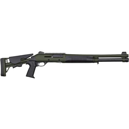 "Canuck Operator Semi-Auto Shotgun, 12 Gauge, Green, 18.6"" Barrel COPGR1219?>"