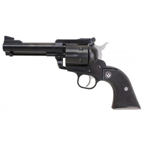 "Ruger Blackhawk Single Action Revolver, .357 Magnum, 4.6"" Barrel, 6 Rounds, Adjustable Rear Sight, Checkered Hard Rubber Grips, Blued Black, Model 0306?>"