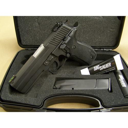 DEMO - Sig Sauer P226 Long Dust Cover (LDC) Semi-Auto Pistol, 9mm, 10 Round, Black PVD Coated, Adj. Rear Sight, Fiber Optic Front Sight, SIGGON226LDC?>