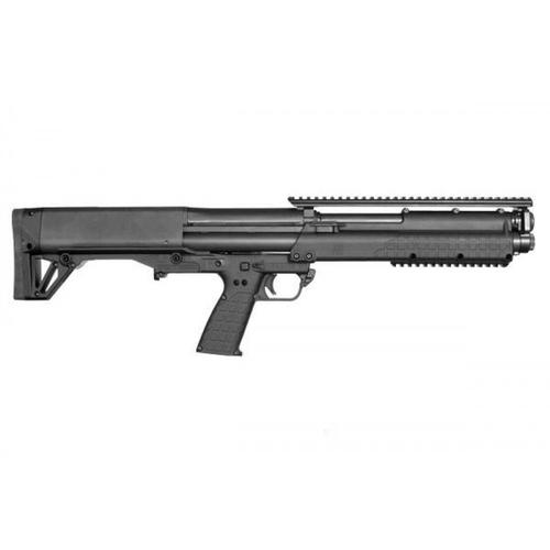 "Kel-Tec KSG Gen2 Pump Shotgun, 12 Gauge, 3"", 18.5"" Barrel, Synthetic, Black?>"