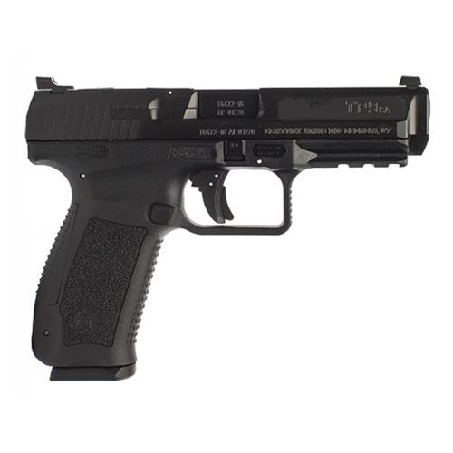 "Century Arms Canik TP9SA Mod.2 Semi-Auto Pistol, 9mm Luger, 4.46"" Barrel, 10 Round, Black, Holster, HG4543-N?>"
