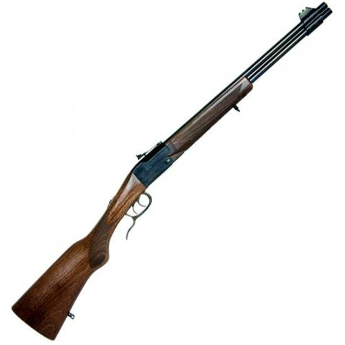 "Chiappa Double Badger Combined Over/Under Rifle, .22LR / .410 Gauge, 19"" Barrel, 2 Rounds, Wood Stock, 500.097?>"