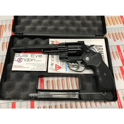 "Arminius HW7 Double Action Revolver, .22LR, 6"" Barrel,  Black H01ARMINIUSHW7?>"