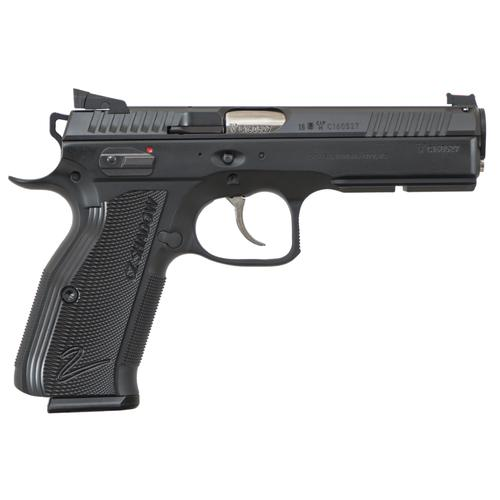 "PRE-ORDER: CZ Accushadow 2 Custom Shop Semi-Auto Pistol 9mm 4.9"" Barrel 91763?>"