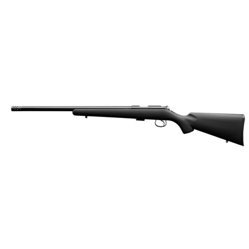 CZ 455 Varmint Synthetic Bolt Action Rifle, .22LR, Synthetic Stock, 5074-8091-RXAMAAX?>
