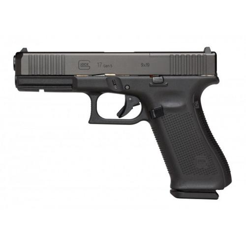 "Glock 17 Gen5 FS Semi-Auto Pistol, 9mm, 4.49"" Barrel, Front Serrations, Fixed Sights UA175S201?>"