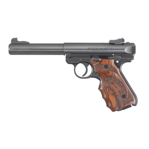 "Ruger Mark IV Target Semi-Auto Pistol .22LR 5.5"" Barrel 10 Rounds Bull Barrel 40159?>"
