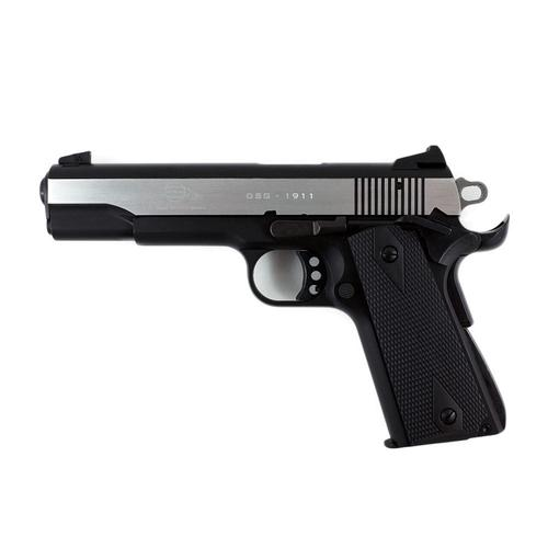 "GSG 1911 .22LR Pistol 5"" Stainless with Black Grips H07GSG911SSS?>"