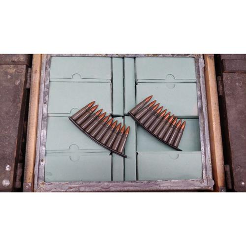 Czech Surplus FMJ 7.62x39 127GR Corrosive Ammunition on Stripper Clips - 1120 Rounds?>