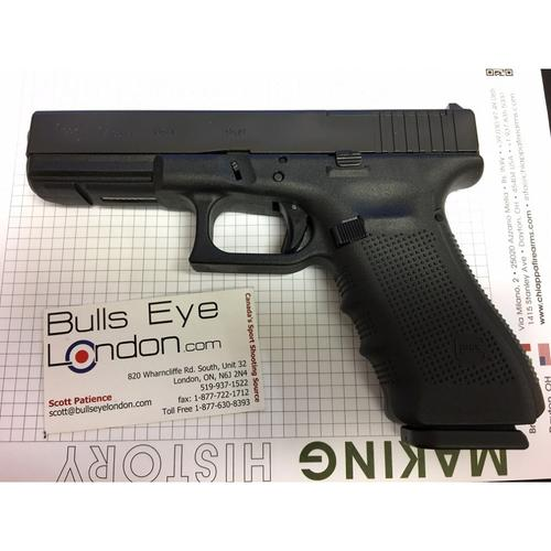 Glock 17 Gen4 MOS Semi-Auto Pistol, 9mm, Black Finish, 10 Rounds UG1750201MOS?>