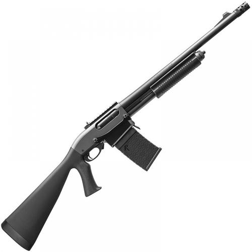 "Remington 870 DM Tactical Shotgun 12 Gauge 3"" 6-Round 18.5"" Barrel Rem Choke Ghost Ring Matte Synthetic Black 81360?>"