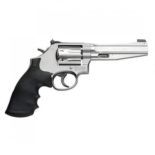"Smith & Wesson Model 686 Plus Pro Series Revolver, .357 Magnum, 5"" Barrel, 7 Rounds, Synthetic Grips, Stainless Steel Frame, Satin Stainless Finish, 178038?>"