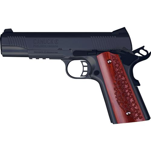 "Canuck 1911 Semi-Auto Pistol, .45 ACP, Blued, 5"" Barrel, Single Action, 8 Rounds, CAN45B?>"